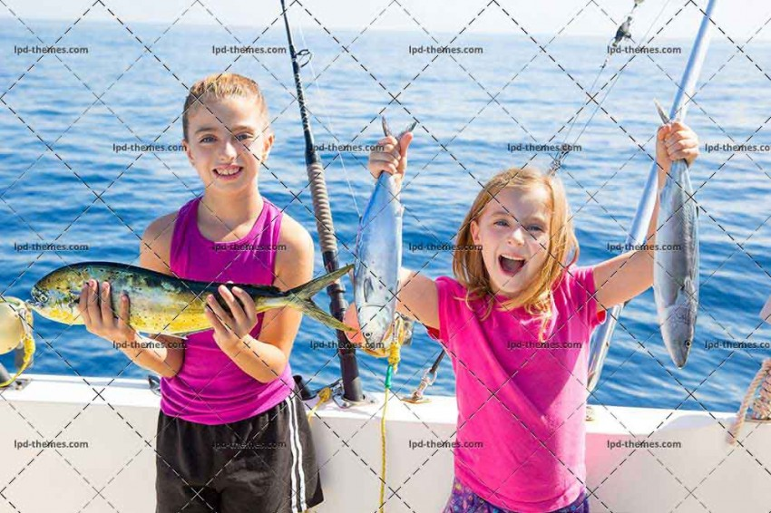 Happy Tuna Fisherwomen