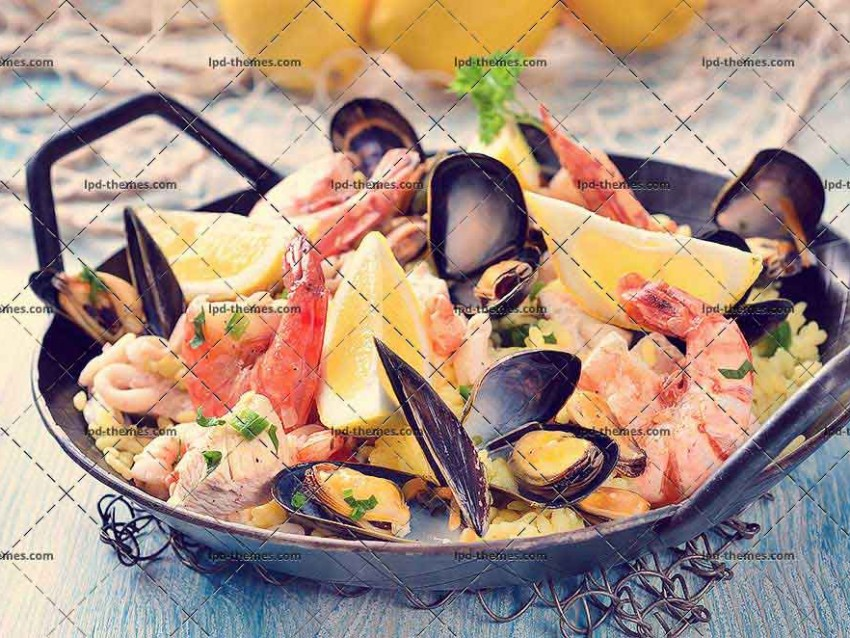 Tasty Spanish Paella