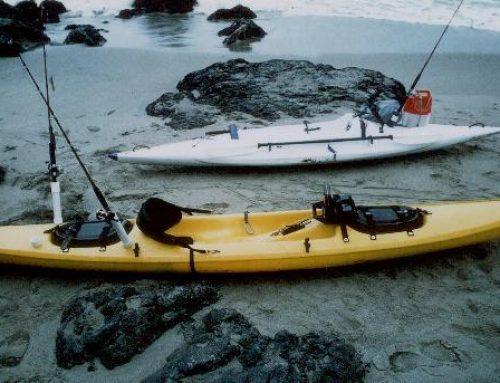 How do I install FLUSH MOUNT ROD HOLDERS on my kayak?